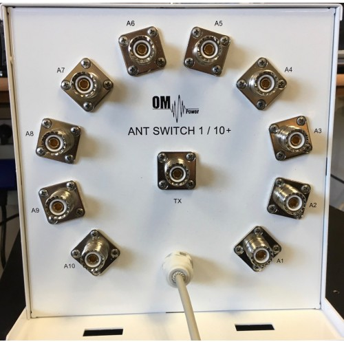 Antenna switch OM SW 1/10+