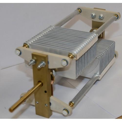 Long rod capacitor 2x 333 pF