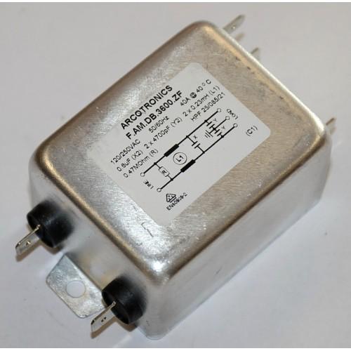 Suppression filter 250 V / 40 A