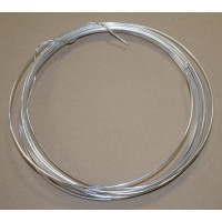 Silvered solid wire - short