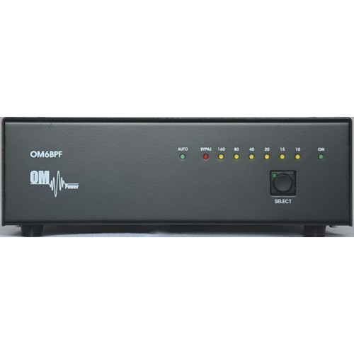 Band pass filter OM6BPF